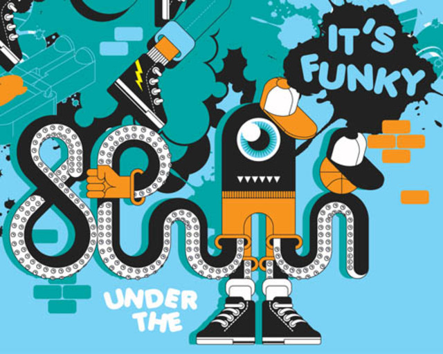 under the sea: it's funky!