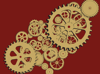 Composition in Cogs, Gears and Sprockets by JigEasy