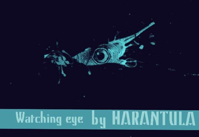 Watching eye