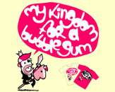 My Kingdom for a bubblegum by mapple