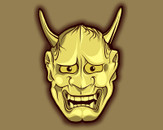 Golden Hannya by MR-NICOLO