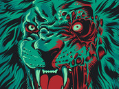 RicoMambo wearing Zombie Lion by RicoMambo