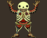 Ooga Booga Skeleton by kramdar