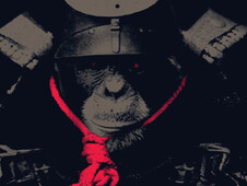 rise of the apes T-Shirt Design by