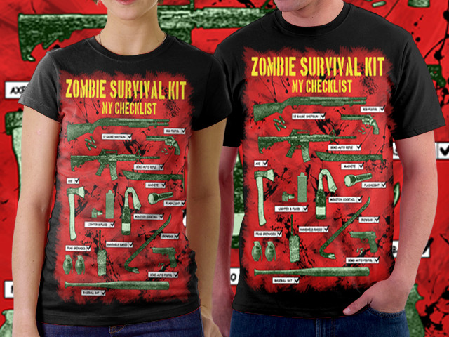 Zombie Survival Kit Checklist