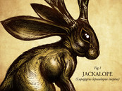 allhexed wearing Jackalope by JoeConde