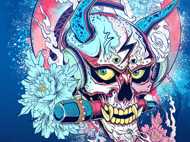 Rock and Roll - Rocker Hannya