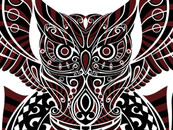 elici22 wearing Maori Owl by atatos