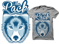 Join the pack T-Shirt Design by