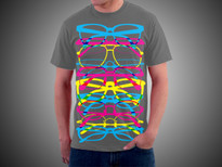Ultra Hipster T-Shirt Design by