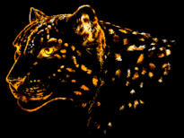 leopardfire T-Shirt Design by