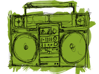 Ghetto Blaster by discodean