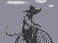 Cycling Rat T-Shirt Design by
