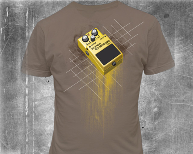 The Super Cheese Pedal Tee