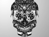 Parts bin skull by HardCandyGFX