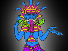Kali, consort of Shiva T-Shirt Design by