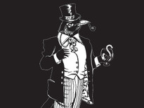 The Incredibly Dapper and Distinguished Sir Birdsly T-Shirt Design by