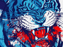 Tiger T-Shirt Design by