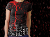 Acid Rain. T-Shirt Design by