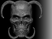 Demon Skull by HardCandyGFX