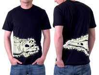 Skullfish T-Shirt Design by
