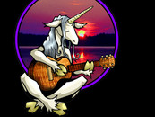 Unicorn Guitarist by furiousgraphics