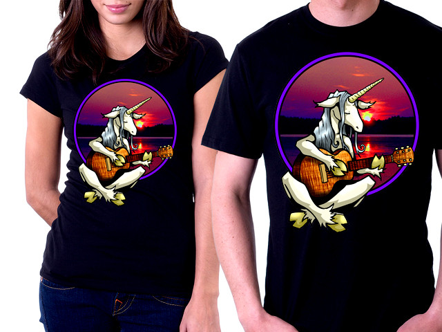 Unicorn Guitarist