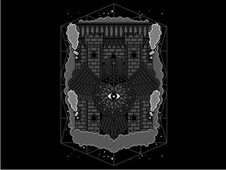 Floating Castle T-Shirt Design by