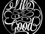 dzeri29 wearing Life is Good by twicolabs