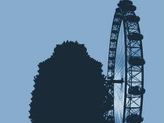 London Eye by p0wl
