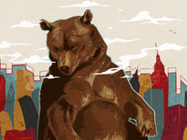 Bear City T-Shirt Design by