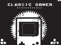 Classic Gamer T-Shirt Design by
