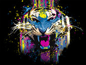 Vo1ture wearing Funked Up Tiger by Vo1ture