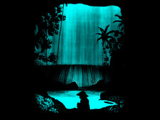 my secret waterfall T-Shirt Design by