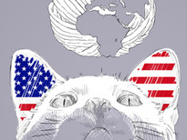 Catamerica T-Shirt Design by