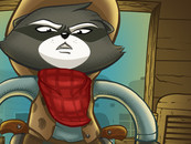 ROCKY RACCOON by penguinline