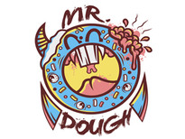 Mr. Dough T-Shirt Design by