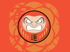 Daruma T-Shirt Design by