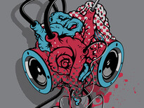 RadioHeart T-Shirt Design by