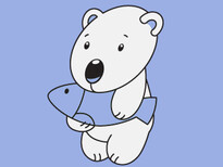 Polar Bear T-Shirt Design by