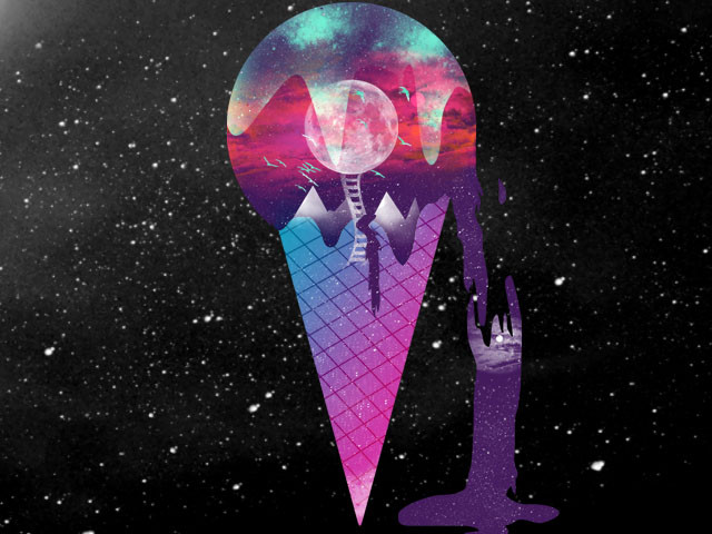 Cosmic ice cream
