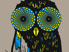 owl hypnotists T-Shirt Design by