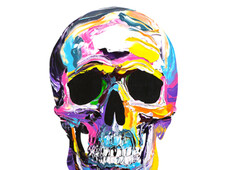Skull #7 T-Shirt Design by