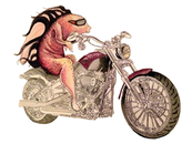 Biker Fish by catandalizac