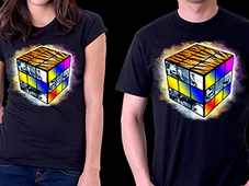 Cube of the Tiger T-Shirt Design by