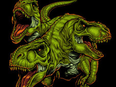Cerbesaurus v.2.0 T-Shirt Design by