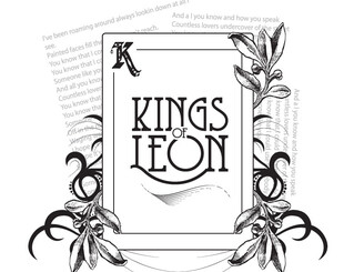 Kings of Leon Card by artwisted69