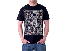 Skull & Bone T-Shirt Design by