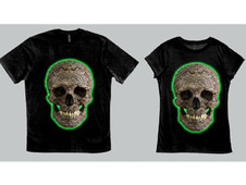 Mayan Death Skull T-Shirt Design by