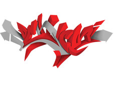 Graffiti T-Shirt Design by